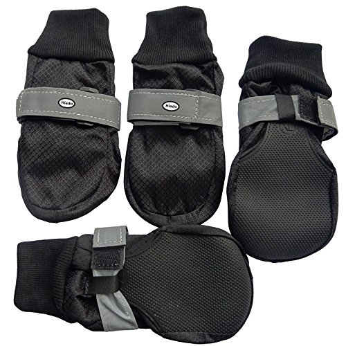 Hiado Dog Shoe Boots With Non Slipping Soft Soles To Protect Paw
