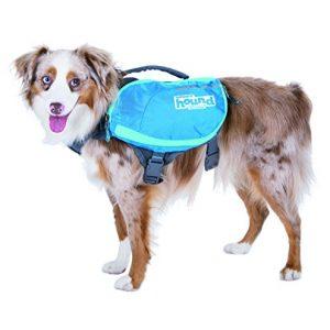 Outward-Hound-DayPak-Dog-Backpack-Adjustable-Saddlebag-Style-Hiking-Gear-for-Dogs-Medium-Blue-0-0
