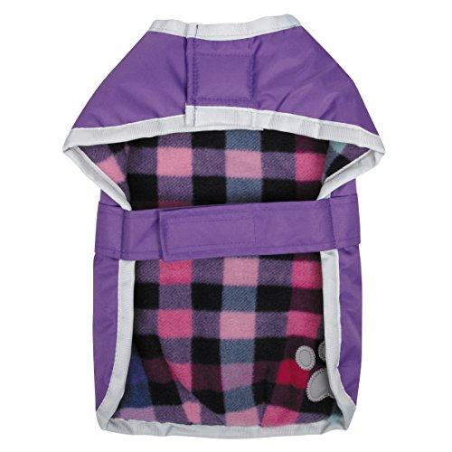 Zack Zoey Nor Easter Blanket Coat Large Purple